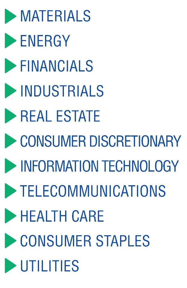 US-Sector list